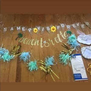 Bachelorette party decorations! 🎉